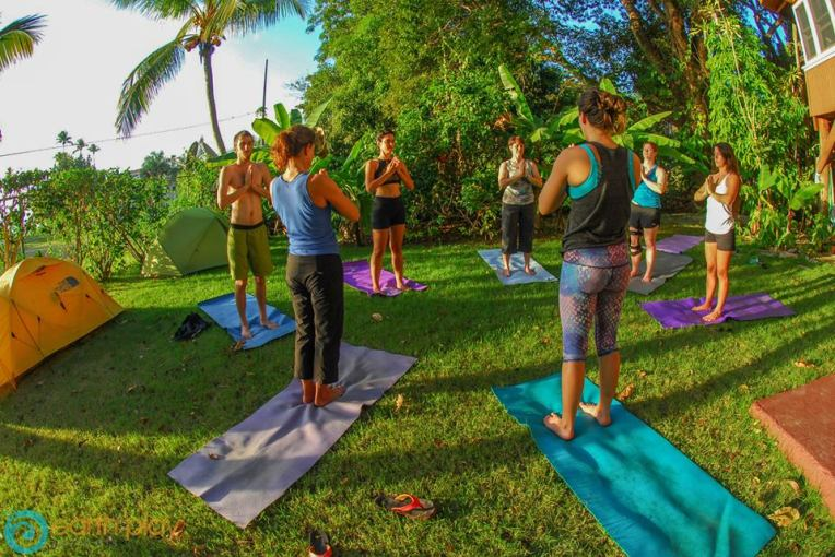 teaching yoga Pr